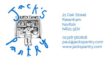 Jacks Pantry England