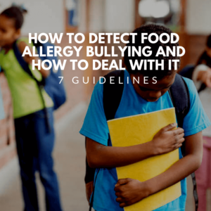 how to detect food allergy bullying
