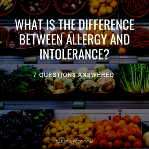 what is the difference between allergy and intolerance